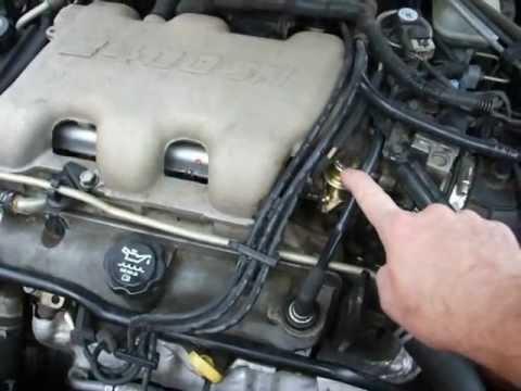 Ponitac Grand am 2004 v6 3400 engine run\u0027s rough bad idle - YouTube