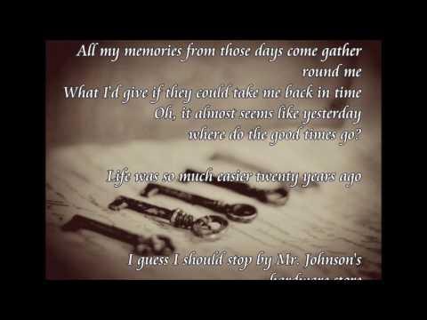 Twenty Years Ago By Juice Newton ~With Lyrics
