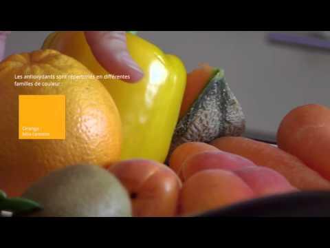 Les fruits et légumes et les antioxydants