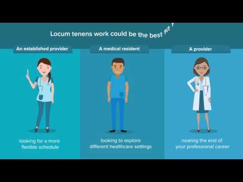 What is Locum Tenens?