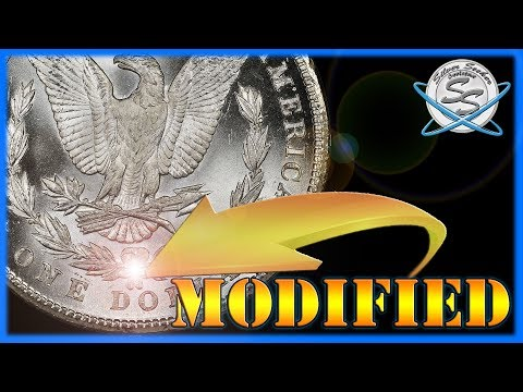 RARE Morgan Dollars W/ Modified Mint Marks!