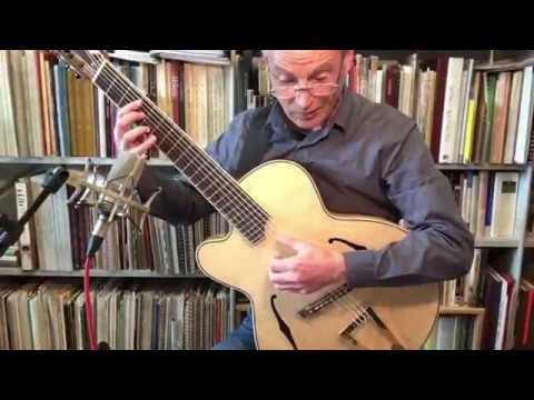 'Magnificent 7' Daniel Slaman 'Dome' guitar