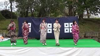 きみともキャンディ 2017.11.26 ライブステージ1部 丸亀城キャッスルフ...