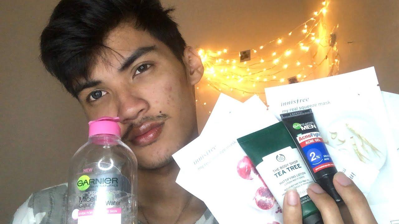 Update Skin Care Routine Buat Wajah Berjerawat Cowok Youtube