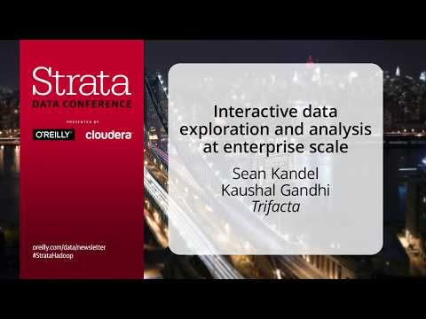 Interactive Data Exploration and Analysis at Enterprise Scale