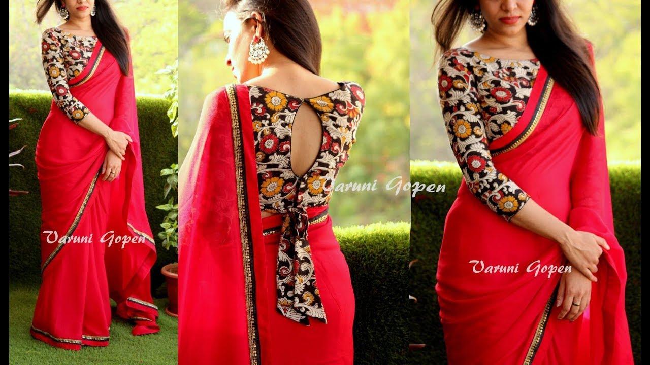 Fashion saree blouse designs 48