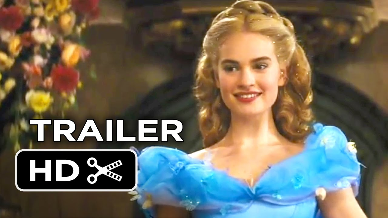 Cinderella Official Trailer 1 2015 Helena Bonham Carter Lily James Disney Movie Hd Youtube