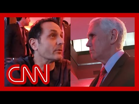Watch ER doctor confront Mike Pence