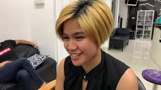 Very Short Bob Haircut | Women Undercut | Pixie Haircut | Clipper Undercut