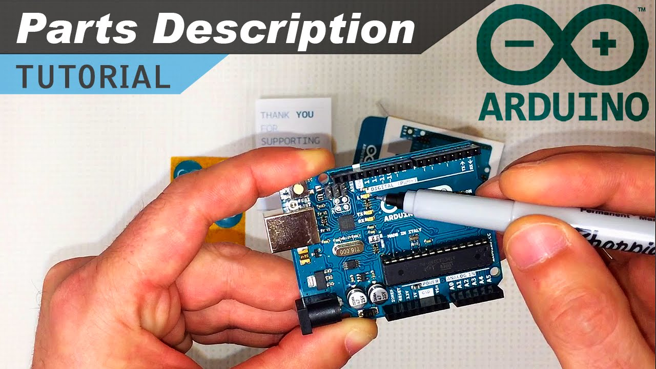Arduino Board Components Explanation Youtube