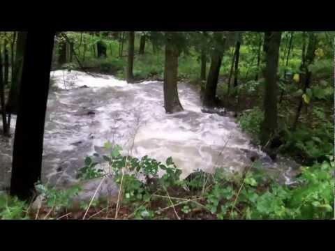 Hurricane Irene Hits Fairfield County CT