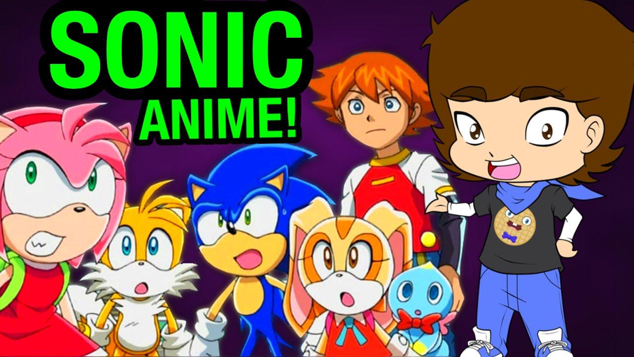 Sonic The Hedgehog Anime Sonic X Connerthewaffle Youtube