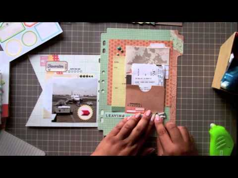 Scrap Your Stash with Nancy Damiano: Vacation Mini Albums