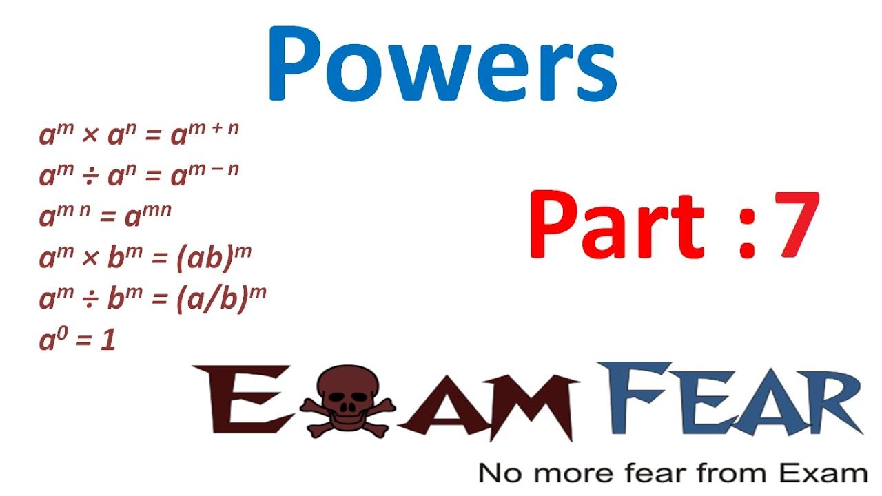 Maths powers part 7 numbers in standard form cbse class 8 maths powers part 7 numbers in standard form cbse class 8 mathematics viii falaconquin