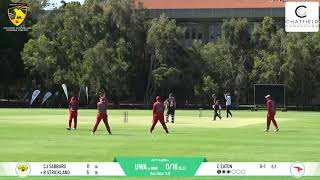 UCC vs Wanneroo DCC First Grade Round 6 - Chatfield Livestreaming Highlights