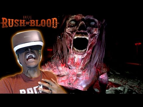 I HAD A MINI HEART ATTACK    Until Dawn: Rush of Blood Hotel Hell PS VR