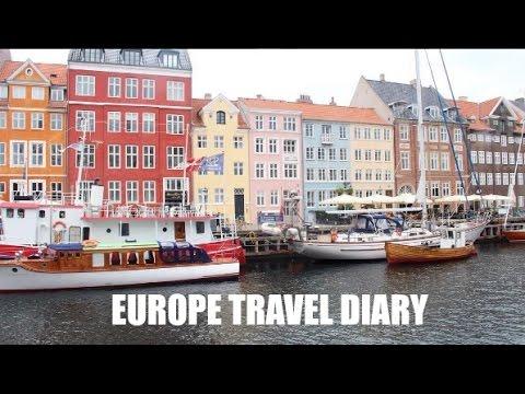 EUROPE TRAVEL DIARY (ENGLAND, DENMARK, & SWEDEN!)