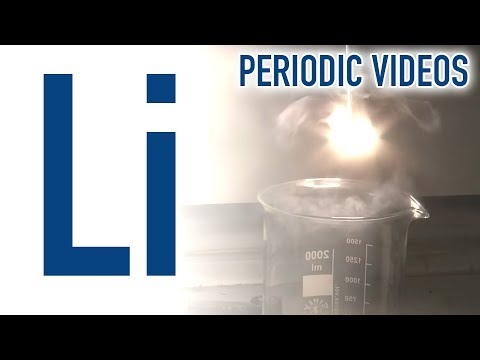 Lithium - Periodic Table of Videos