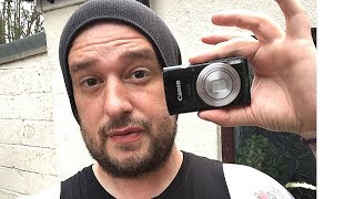 CANON IXUS 185 UNBOX & REVIEW