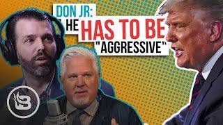 "Donald Trump Jr. Explains Why His Dad MUST Use An ""Aggressive"" Tone During Debates | Glenn Beck"