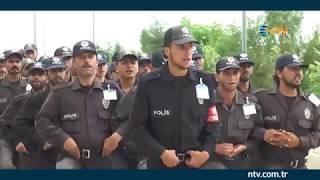 Afrin polis gücü göreve hazır (Türkiye'de, Özel Harekat ekiplerince eğitildiler)
