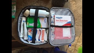 first aid kit art craft