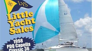 SOLD!!! 1998 PDQ CAPELLA CLASSIC 36 Catamaran for Sale at Little Yacht Sales