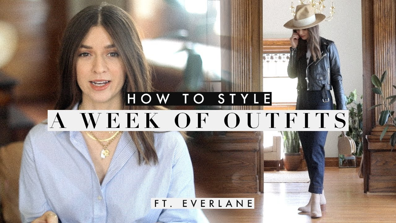 How to Style: A Week Of Outfits No.1 X Everlane 5
