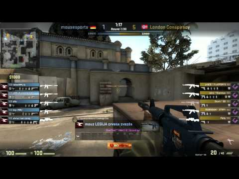Caseking of the Hill #5 - mousesports vs. London Con. map 1