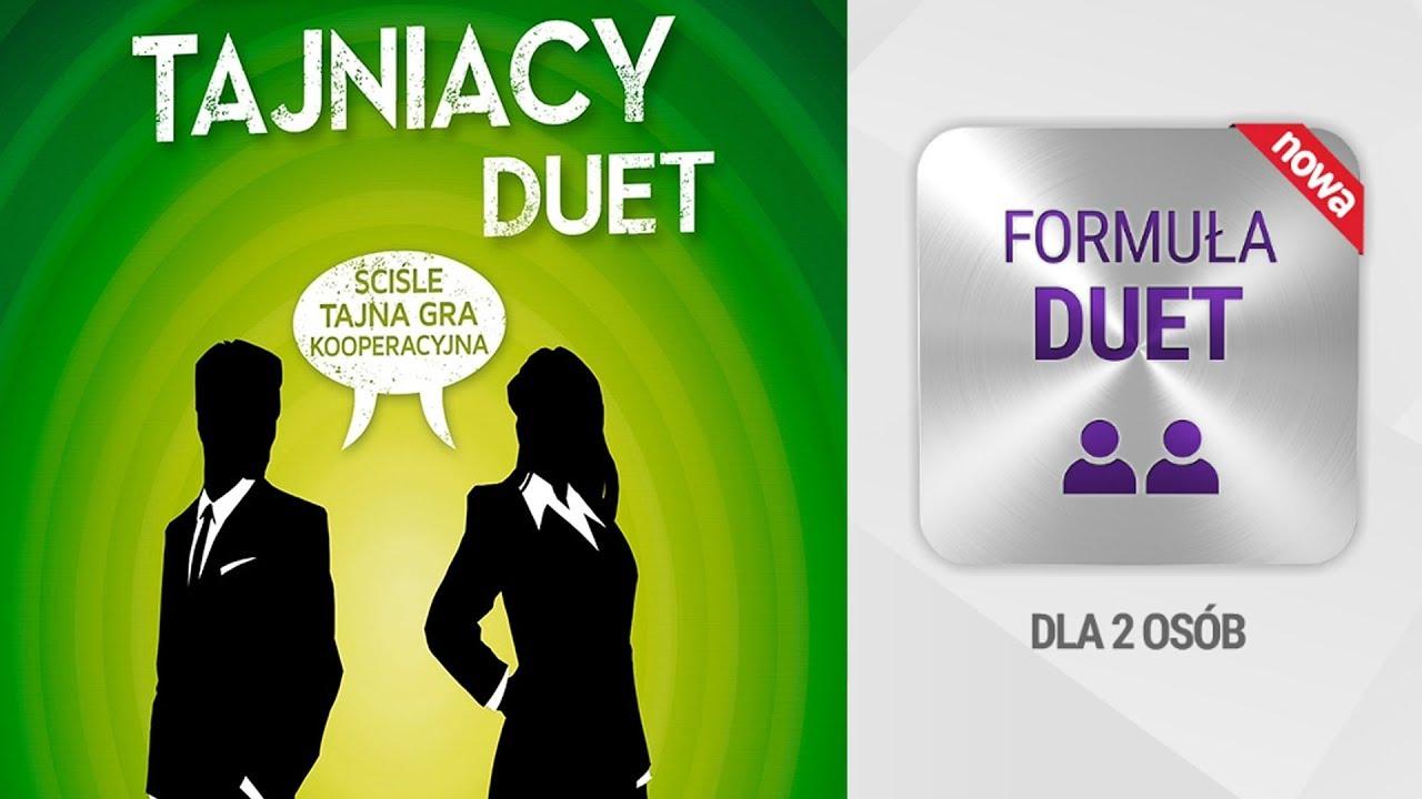 Tajniacy Duet – gra imprezowa dla 2 osób?