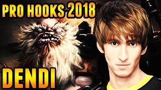 Dendi Pudge Pro Hooks (2018) Dota 2 Full Game