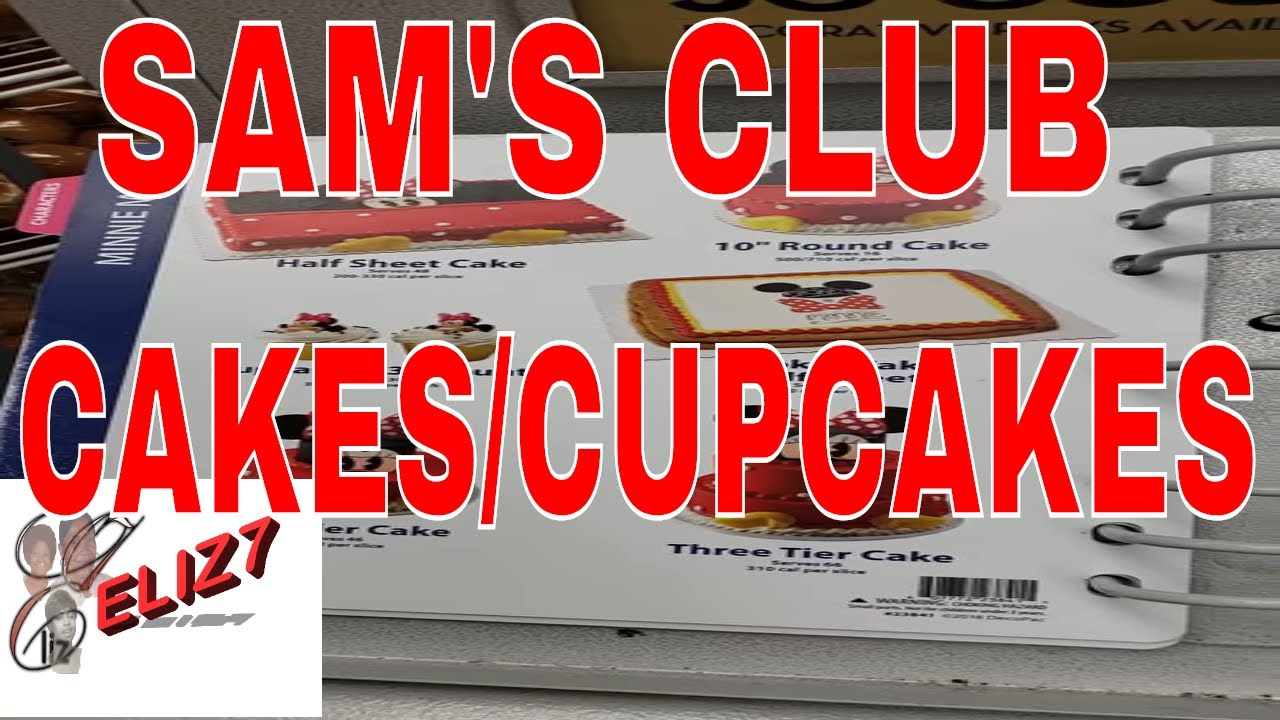 Sam S Club Cakes Cupcakes Photo Cakes Book And Prices