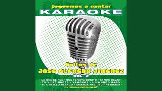Baixar Tu y las Nubes (Karaoke Version) (Originally Performed By José Alfredo Jiménez)