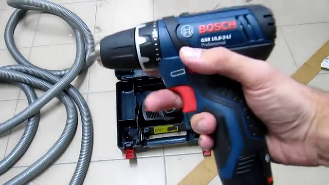 unpacking unboxing cordless drill drivers bosch gsr 10 8 2 li 0601868122 youtube