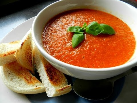 how to make the easiest tomato soup youtube. Black Bedroom Furniture Sets. Home Design Ideas