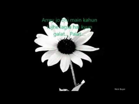 Palat -Main tera hero lyrics