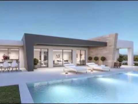 top 5 des plus belles villas de luxe avec piscine youtube. Black Bedroom Furniture Sets. Home Design Ideas