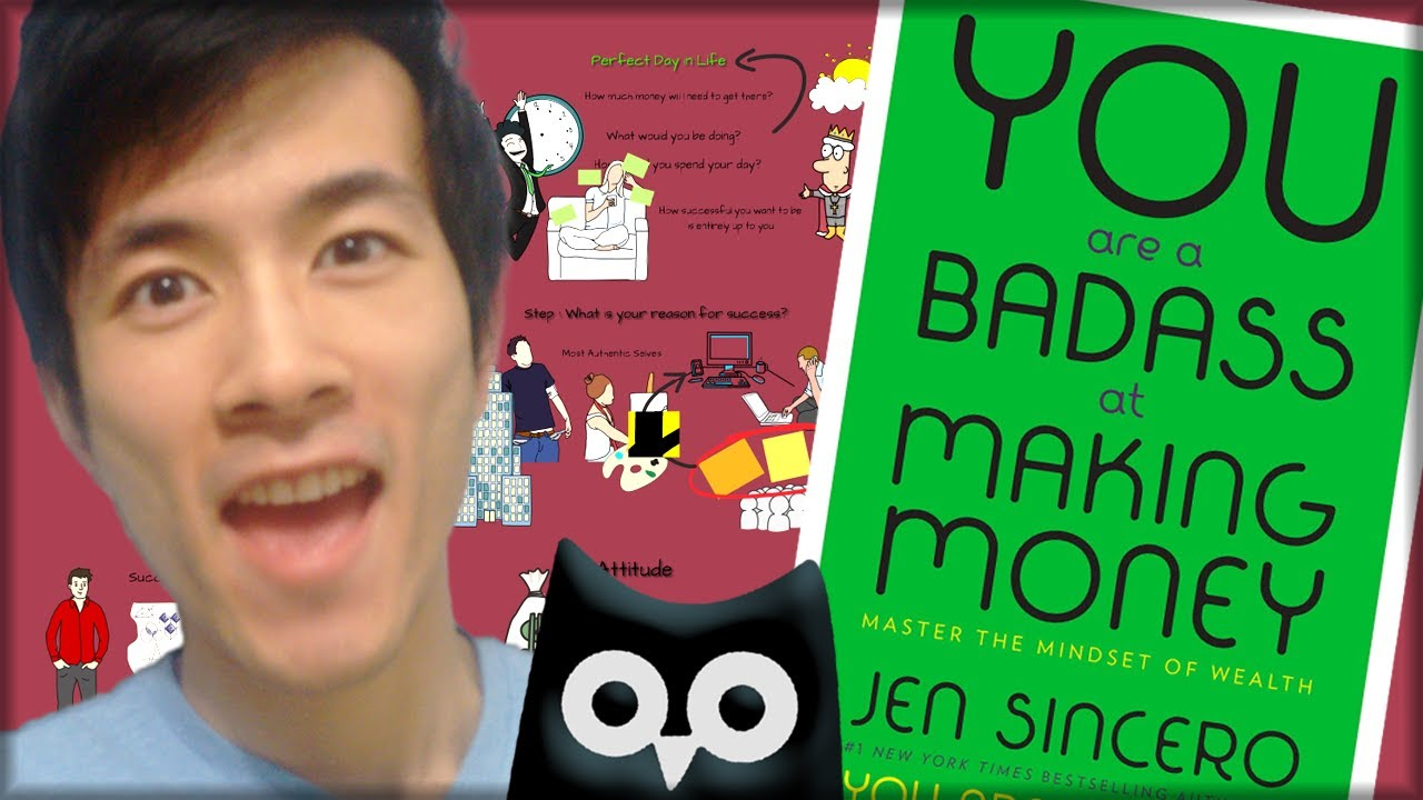You Are A Badass At Making Money €� How To Create A Mindset For Success €�  Animated Book Review