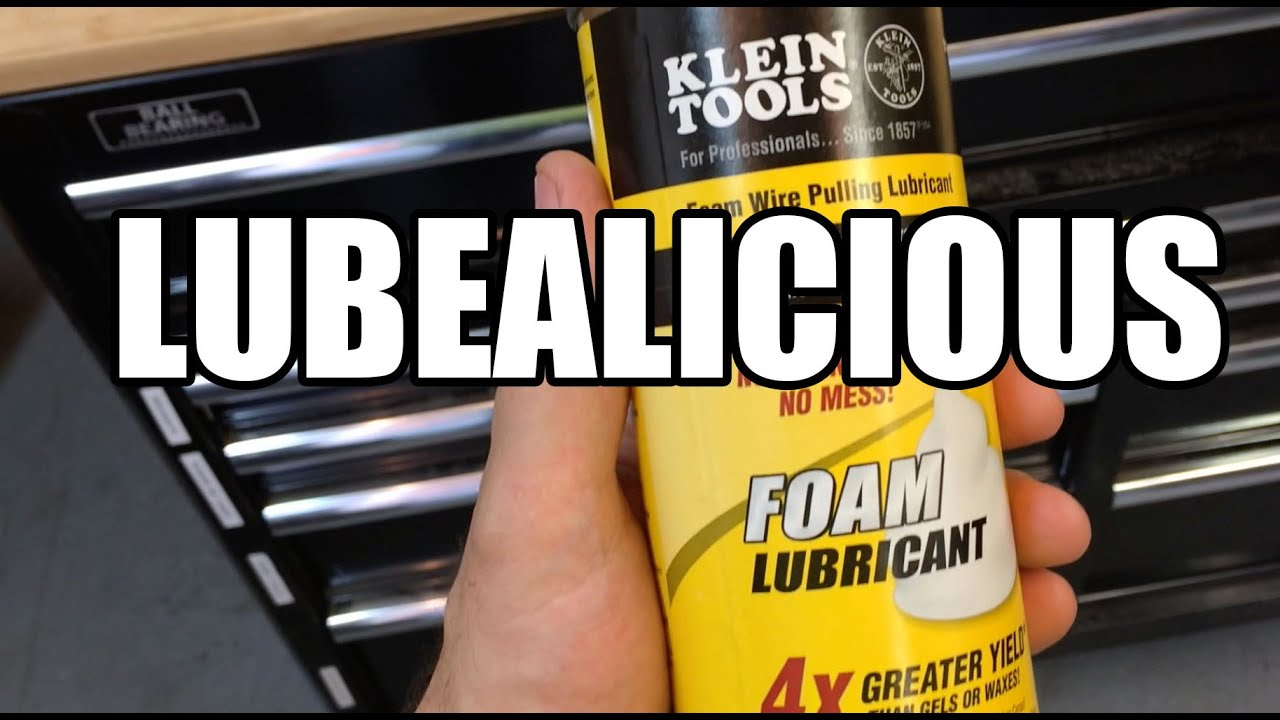 Klein Foam Wire Pulling Lubricant - Tools In Action Exclusive First ...