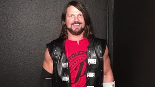 AJ Styles is ready for Brock Lesnar