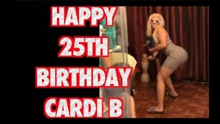 CARDI B CELEBRATES 25TH BIRTHDAY
