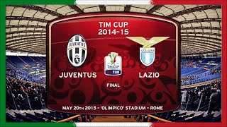 Tim Cup 2015, Final, Juventus - Lazio (IT)