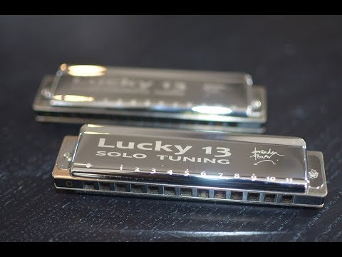 NEW! Lucky 13 Harps in Solo & PowerChromatic Tunings