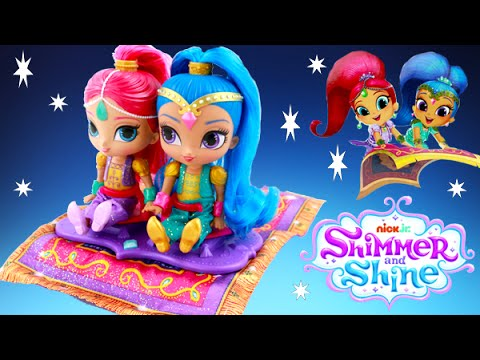 Shimmer /& Shine Nickelodeon Nick Jr Magic Flying Carpet New in Box