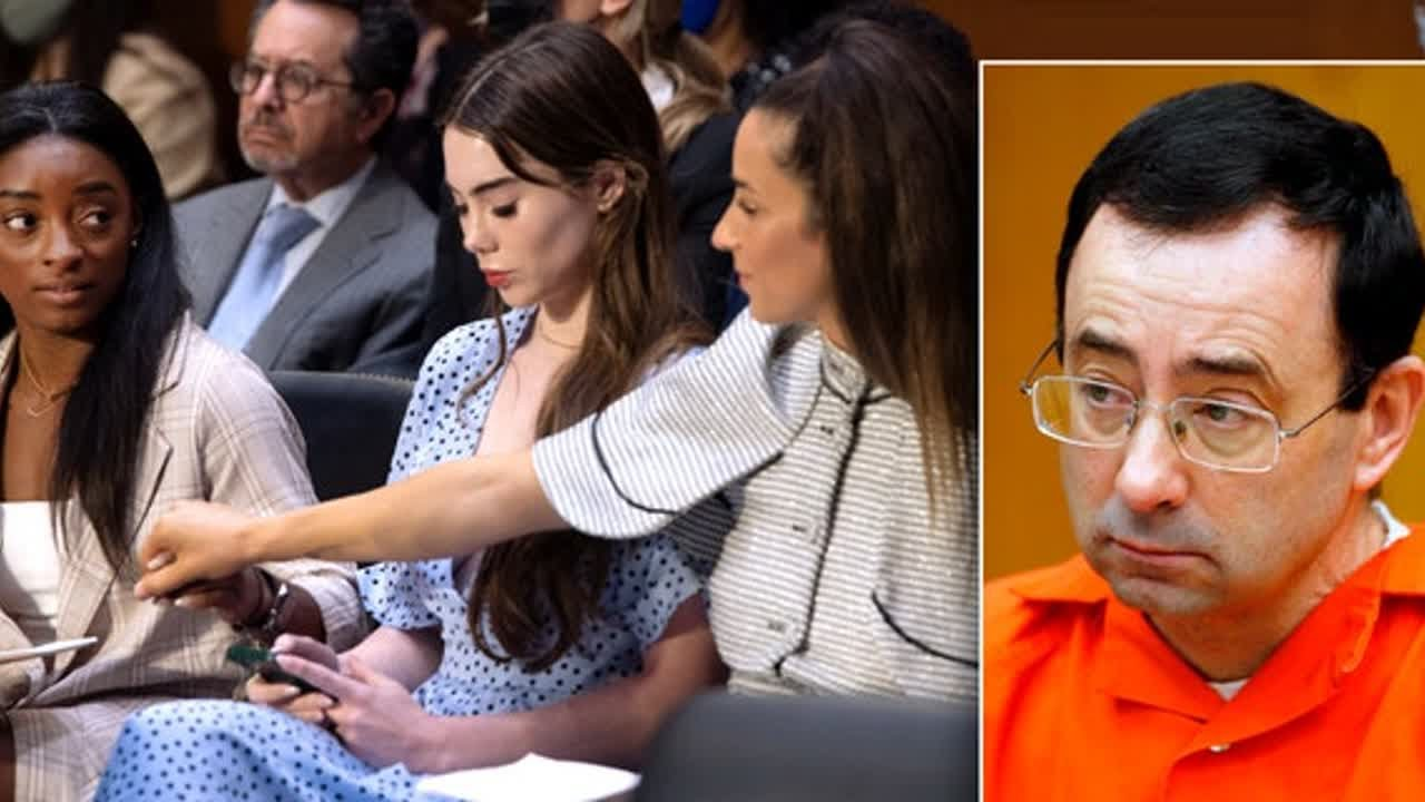 Angelina Jolie 'honored' to meet US gymnasts who testified in DC ...