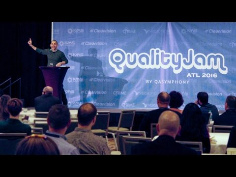 "Quality Jam 2016: Scott Berkun ""The Myths of Innovation"""