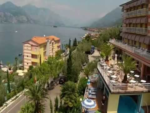 Hotel Eden Brenzone sul Lago di Garda, am Gardasee on Lake Garda - YouTube