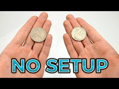 FAST COIN TRICK - TUTORIAL | TheRussianGenius