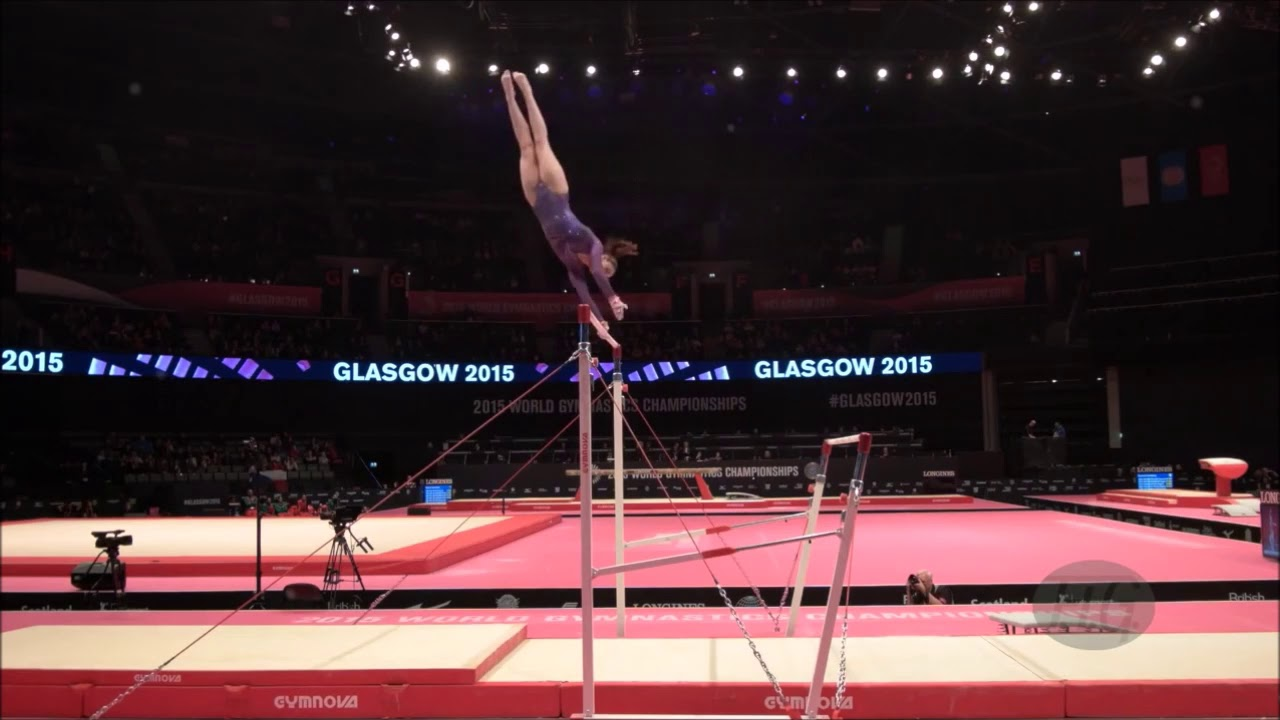 Slow motion Floor Farah Ann Gymnastic - YouTube