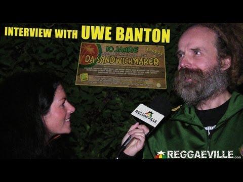 Interview with Uwe Banton @ 10 Jahre Da Sandwichmaker in Augsburg, Germany 2013 [September 14th]